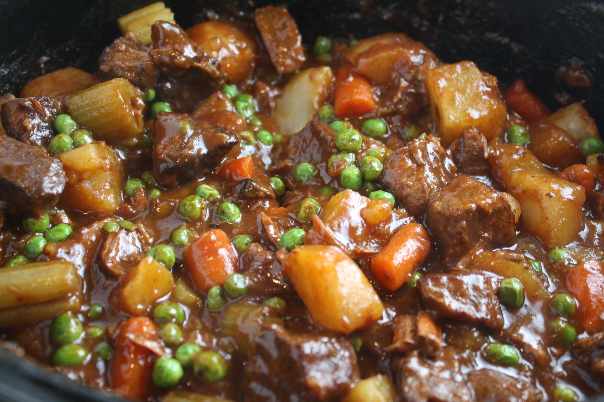 Slow-Cooker Beef and Vegetable